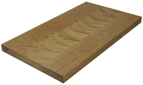 Birch Wide Plank (Face Grain) Countertop.