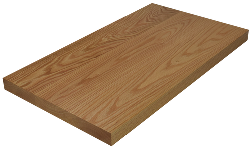 Red Oak Wide Plank (Face Grain) Countertop.