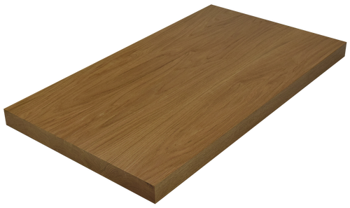 White Oak Wide Plank (Face Grain) Countertop.