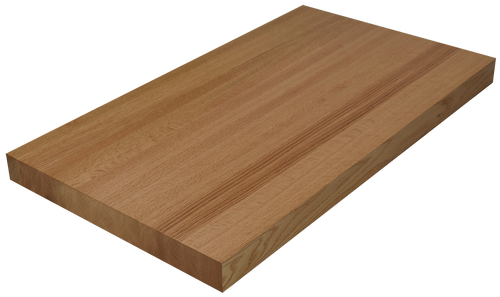 Red Oak Edge Grain Butcher Block Countertop.