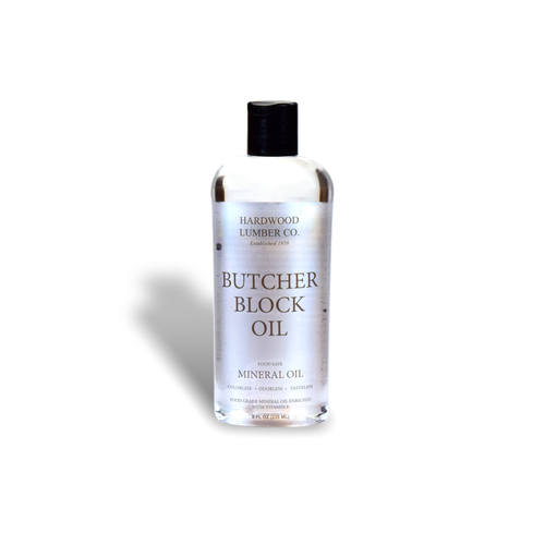 Butcher Block & Cutting Board Oil (8 oz.)