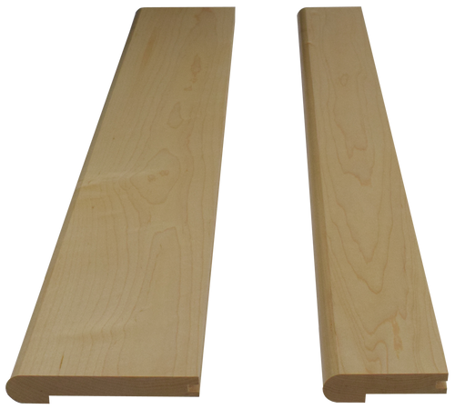 Hard Maple Landing Treads.