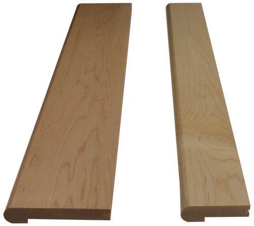 Soft Maple Landing Treads.