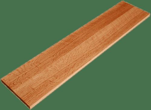 Quarter Sawn White Oak Stair Riser