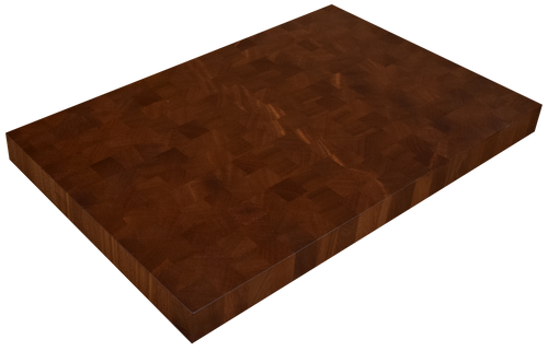 African Mahogany End Grain Butcher Block Countertop.