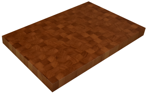 Spanish Cedar End Grain Butcher Block Countertop.