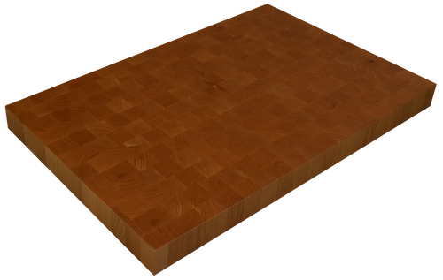 Clear Alder End Grain Butcher Block Countertop.