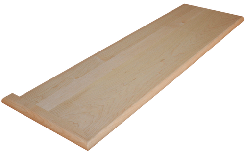 Soft Maple Stair Tread.