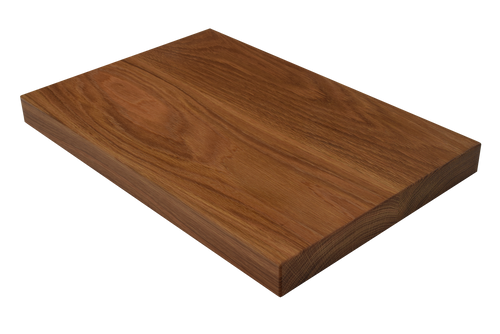 White Oak Wide Plank (Face Grain) Cutting Board.