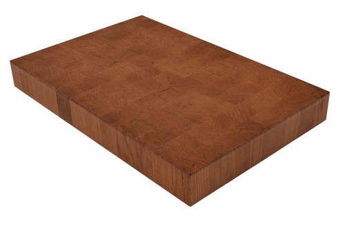Cherry End Grain Butcher Block Cutting Board.