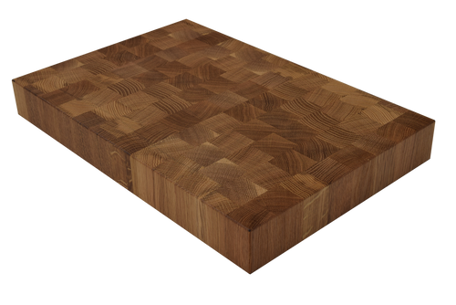 White Oak End Grain Butcher Block Cutting Board