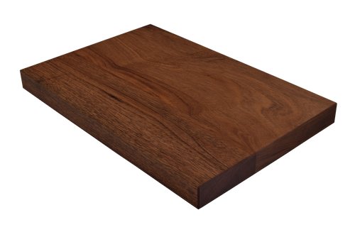 African Mahogany Wide Plank (Face Grain)  Cutting Board.