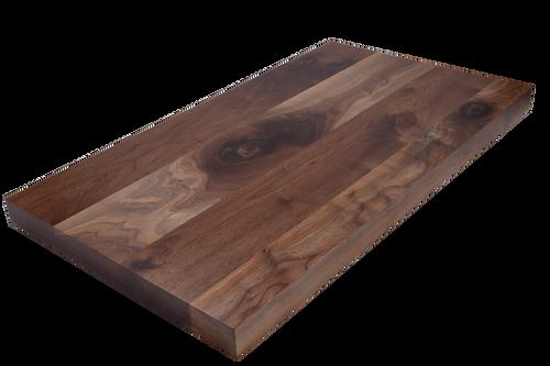 Rustic Walnut Wide Plank (Face Grain) Countertop.