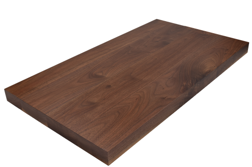 Premium Walnut Wide Plank (Face Grain) Countertop.