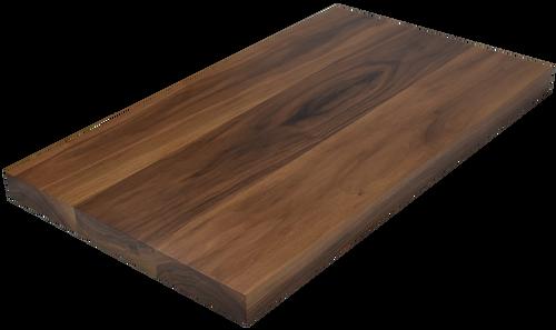 Steamed Walnut Wide Plank (Face Grain) Countertop