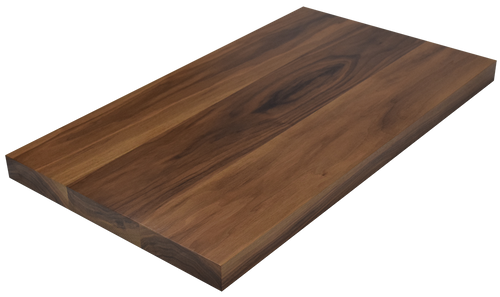 Steamed Walnut Wide Plank (Face Grain) Countertop.