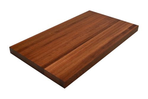 Brazilian Cherry (Jatoba) Edge Grain Butcher Block Countertop.