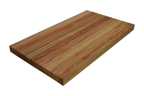 Rift Sawn Red Oak Edge Grain Butcher Block Countertop.