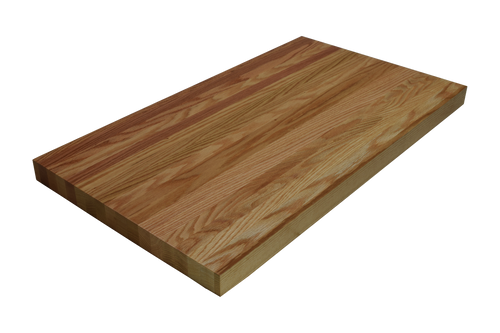 Quarter Sawn Red Oak Edge Grain Butcher Block Countertop.