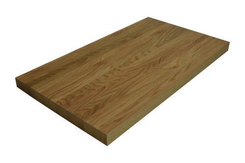 Quarter Sawn White Oak Edge Grain Butcher Block Countertop.