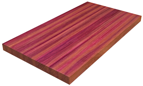 Purpleheart Edge Grain Counter Top