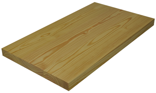 Yellow Pine Wide Plank (Face Grain) Countertop.