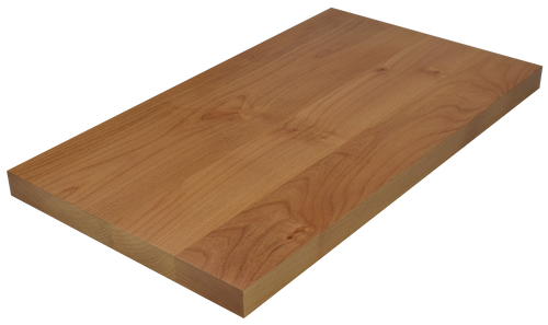 Clear Alder Wide Plank (Face Grain) Countertop.