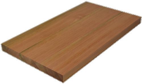 Douglas Fir Wide Plank (Face Grain) Countertop.