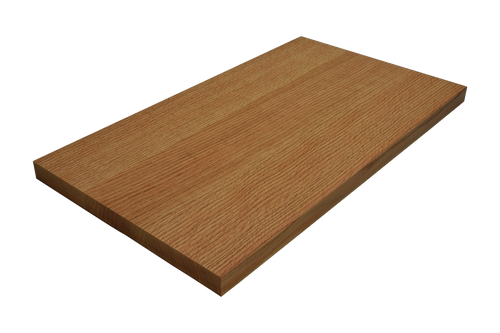 Quarter Sawn Red Oak Wide Plank (Face Grain) Countertop.