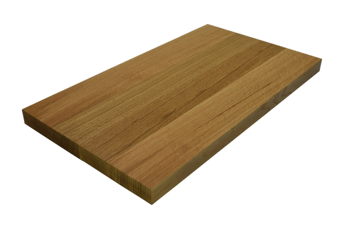 Rift Sawn White Oak Wide Plank (Face Grain) Countertop.