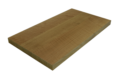 Quarter Sawn White Oak Wide Plank (Face Grain) Countertop.
