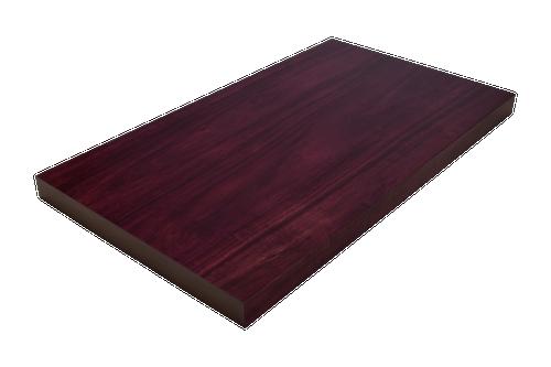 Purpleheart Wide Plank (Face Grain) Countertop.