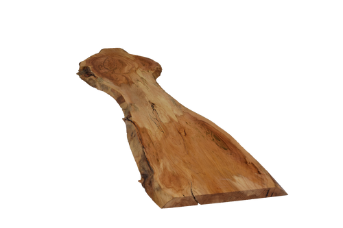 Backside angle of Box Elder Live Edge Slab #434.