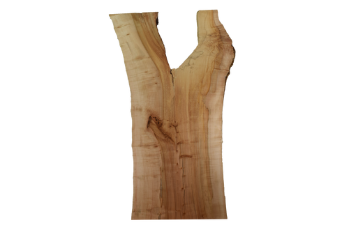 Front-side of Maple Live Edge Slab #386.