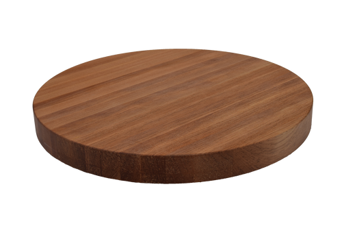 Birch Edge Grain Round Cutting Board