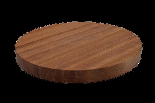 Birch Edge Grain Round Cutting Board