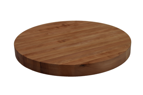 Cherry Edge Grain Round Cutting Board