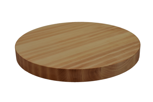 Maple Edge Grain Round Cutting Board