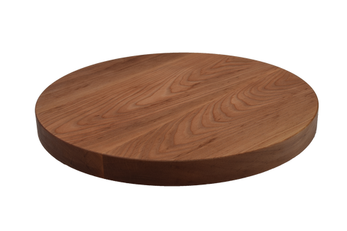 Birch Wide Plank Round Cutting Board.