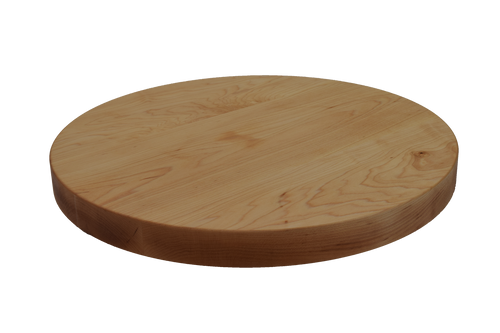 Maple Wide Plank Round Cutting Board