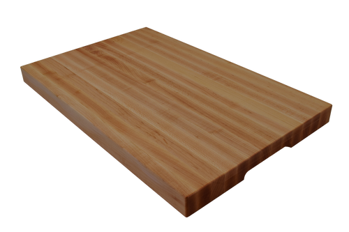 Top of Specialty Finger Notch Cutting Board