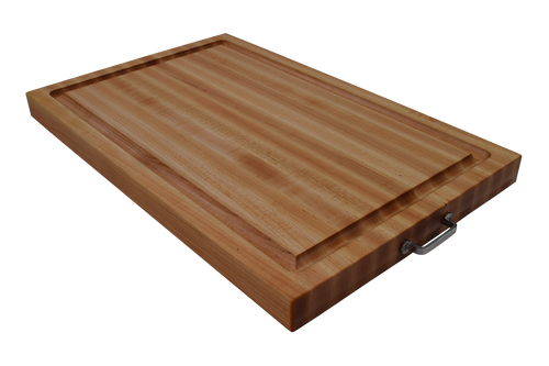 Stainless Steel Handle Specialty Cutting Board