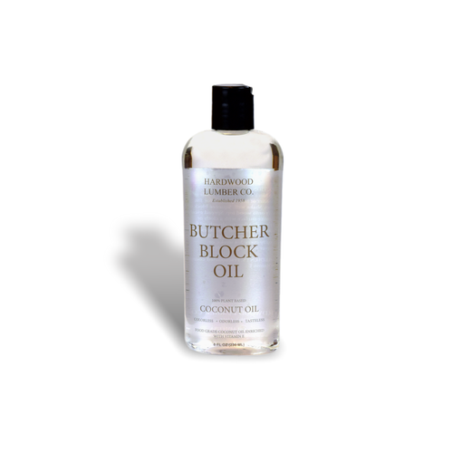 Butcher Block Coconut Oil front.
