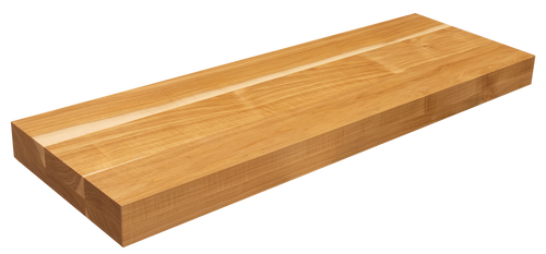 Hickory Floating Stair Tread FG