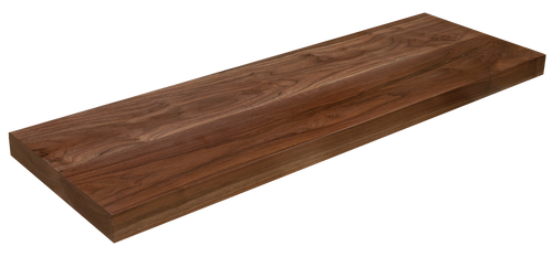Walnut Floating Stair Tread WP
