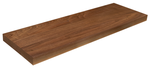 Premium Walnut Floating Stair Tread WP