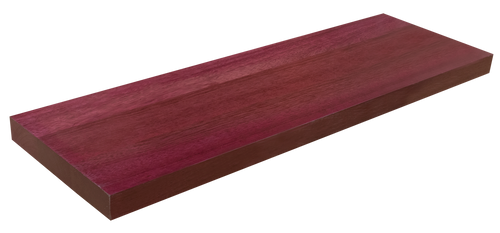 Purpleheart Floating Stair Tread WP