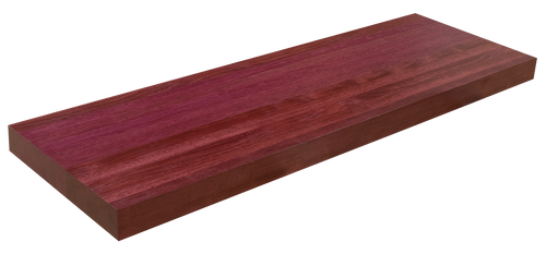 Purpleheart Floating Stair Tread EG