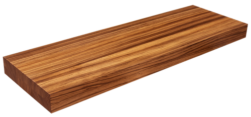 Zebrawood Floating Stair Tread FG