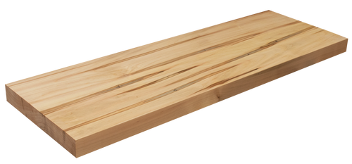 Wormy Maple Floating Stair Tread WP